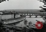 Image of Prague and the Vltava River Prague Czechoslovakia, 1945, second 8 stock footage video 65675046377