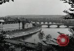 Image of Prague and the Vltava River Prague Czechoslovakia, 1945, second 9 stock footage video 65675046377