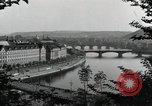 Image of Prague and the Vltava River Prague Czechoslovakia, 1945, second 11 stock footage video 65675046377