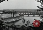Image of Prague and the Vltava River Prague Czechoslovakia, 1945, second 12 stock footage video 65675046377
