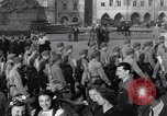 Image of Czech soldiers Prague Czechoslovakia, 1945, second 9 stock footage video 65675046378