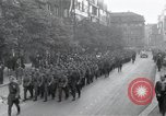 Image of Czech soldiers march Prague Czechoslovakia, 1945, second 5 stock footage video 65675046381