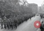 Image of Czech soldiers march Prague Czechoslovakia, 1945, second 7 stock footage video 65675046381