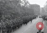 Image of Czech soldiers march Prague Czechoslovakia, 1945, second 10 stock footage video 65675046381