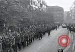 Image of Czech soldiers march Prague Czechoslovakia, 1945, second 11 stock footage video 65675046381