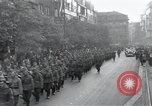 Image of Czech soldiers march Prague Czechoslovakia, 1945, second 12 stock footage video 65675046381