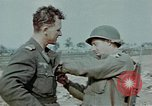 Image of surrendered Nazi soldiers Czechoslovakia, 1945, second 2 stock footage video 65675046384