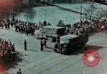 Image of Russian troops Prague Czechoslovakia, 1945, second 1 stock footage video 65675046387