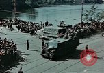 Image of Russian troops Prague Czechoslovakia, 1945, second 2 stock footage video 65675046387