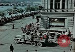 Image of Russian troops Prague Czechoslovakia, 1945, second 9 stock footage video 65675046387