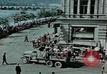 Image of Russian troops Prague Czechoslovakia, 1945, second 10 stock footage video 65675046387