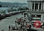 Image of Russian troops Prague Czechoslovakia, 1945, second 12 stock footage video 65675046387