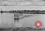 Image of Test of Higgins Boat using tractor Louisiana United States USA, 1941, second 1 stock footage video 65675046394