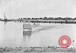 Image of Test of Higgins Boat using tractor Louisiana United States USA, 1941, second 2 stock footage video 65675046394