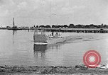 Image of Test of Higgins Boat using tractor Louisiana United States USA, 1941, second 3 stock footage video 65675046394