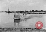 Image of Test of Higgins Boat using tractor Louisiana United States USA, 1941, second 4 stock footage video 65675046394