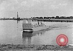 Image of Test of Higgins Boat using tractor Louisiana United States USA, 1941, second 5 stock footage video 65675046394