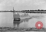 Image of Test of Higgins Boat using tractor Louisiana United States USA, 1941, second 6 stock footage video 65675046394