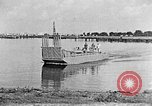 Image of Test of Higgins Boat using tractor Louisiana United States USA, 1941, second 7 stock footage video 65675046394