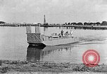 Image of Test of Higgins Boat using tractor Louisiana United States USA, 1941, second 8 stock footage video 65675046394