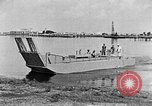 Image of Test of Higgins Boat using tractor Louisiana United States USA, 1941, second 12 stock footage video 65675046394