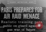 Image of training against air raid Paris France, 1935, second 2 stock footage video 65675046407