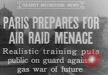 Image of training against air raid Paris France, 1935, second 4 stock footage video 65675046407
