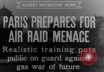 Image of training against air raid Paris France, 1935, second 5 stock footage video 65675046407