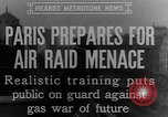 Image of training against air raid Paris France, 1935, second 6 stock footage video 65675046407