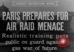 Image of training against air raid Paris France, 1935, second 7 stock footage video 65675046407