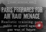 Image of training against air raid Paris France, 1935, second 8 stock footage video 65675046407
