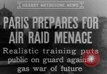 Image of training against air raid Paris France, 1935, second 9 stock footage video 65675046407