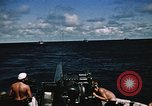 Image of USS Bayfield Pacific Ocean, 1945, second 7 stock footage video 65675046440