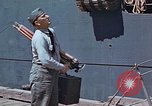 Image of Coast Guard Chief Petty Officer photographer Pacific Theater, 1945, second 6 stock footage video 65675046451