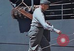 Image of Coast Guard Chief Petty Officer photographer Pacific Theater, 1945, second 9 stock footage video 65675046451