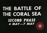 Image of Training film about battle of coral sea Pacific Ocean, 1950, second 2 stock footage video 65675046476