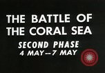 Image of Training film about battle of coral sea Pacific Ocean, 1950, second 6 stock footage video 65675046476