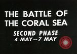 Image of Training film about battle of coral sea Pacific Ocean, 1950, second 7 stock footage video 65675046476