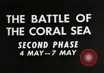 Image of Training film about battle of coral sea Pacific Ocean, 1950, second 8 stock footage video 65675046476