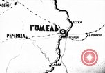 Image of Battle of Gomel in World War 2 Belarusia, 1943, second 1 stock footage video 65675046481