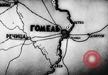Image of Battle of Gomel in World War 2 Belarusia, 1943, second 2 stock footage video 65675046481