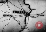 Image of Battle of Gomel in World War 2 Belarusia, 1943, second 4 stock footage video 65675046481