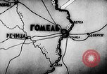 Image of Battle of Gomel in World War 2 Belarusia, 1943, second 5 stock footage video 65675046481
