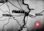Image of Battle of Gomel in World War 2 Belarusia, 1943, second 6 stock footage video 65675046481