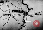 Image of Battle of Gomel in World War 2 Belarusia, 1943, second 7 stock footage video 65675046481