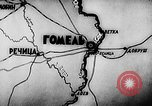 Image of Battle of Gomel in World War 2 Belarusia, 1943, second 8 stock footage video 65675046481