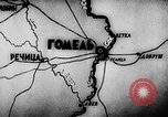 Image of Battle of Gomel in World War 2 Belarusia, 1943, second 12 stock footage video 65675046481