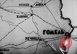 Image of Battle of Gomel Russia, 1943, second 1 stock footage video 65675046483