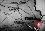 Image of Battle of Gomel Russia, 1943, second 2 stock footage video 65675046483
