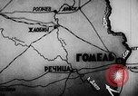 Image of Battle of Gomel Russia, 1943, second 3 stock footage video 65675046483